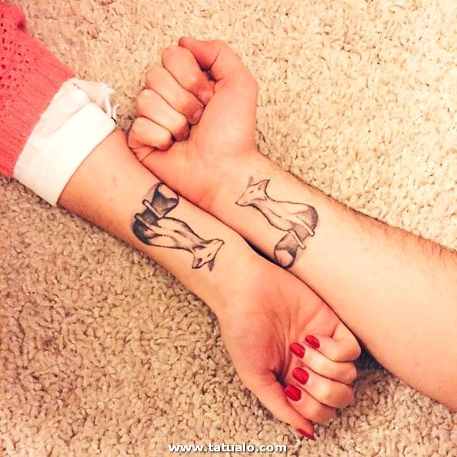 Tattos Pareja Brazos