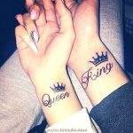 Tatuaje Queen Y King