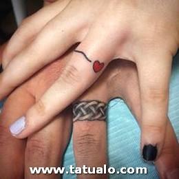 Tatuajes De Parejas Con Anillos 3