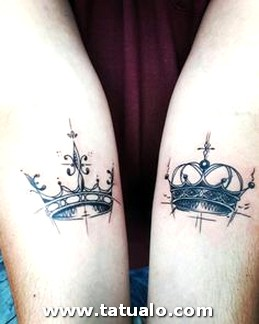 Tatuajes De Parejas Con Coronas 13