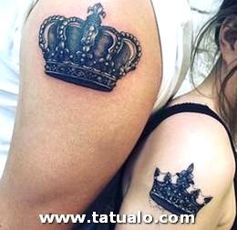 Tatuajes De Parejas Con Coronas 14